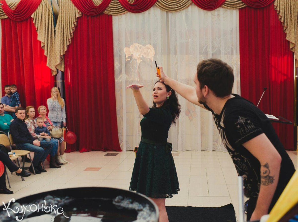 Шоу пузырей Нижневартовск